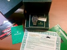 NOS Rolex Explorer I Ref 5500 Stainless Steel Rolex Box and Paper