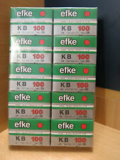 10 rolls of Efke KB100 b&w film 35mm/36 exposures-dated 03/2015-free shipping!