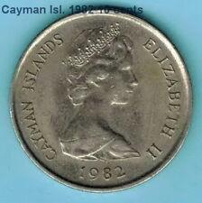 CAYMAN ISLAND  1982 10 cents  KM3   R710