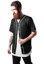 Urban Classics Uomini T-shirt Baseball Mesh M Nero - 263514