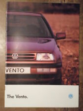 VOLKSWAGEN VENTO orig 1994 UK Mkt Sales Brochure - Includes VR6 VW