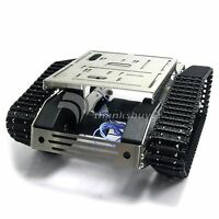 Smart Car Tank Chassis Wifi Robot Kit w/Gimbal Camera for iOS Arduino Android