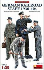 MiniArt German Railroad Staff / Dt. Bahnpersonal 1930-40s 1:35 Bausatz Kit 38012