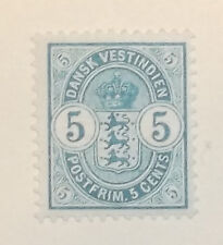 US Stamp Possissions Danish West Indies 22 MH Cat $17.50