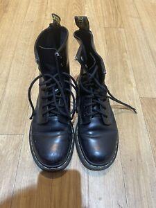 Black Dr Doc Martens Size 4