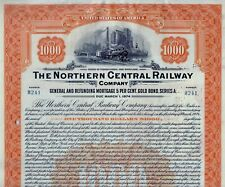 The Northern Central Railway Company 1924, 5% Gold Bond due 1974 (1.000 $) Lehm