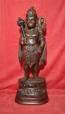 Hanuman Sculpture Rose Wood Statue Hindu God Garuda Bajrang Figurine Art Decor