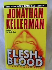 FLESH AND BLOOD by Jonathan Kellerman 2001 EXCELLENT PAPERBACK Fast Shipping