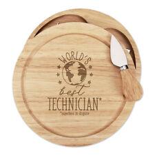 World's Best Technician Cheese Board Knife Set