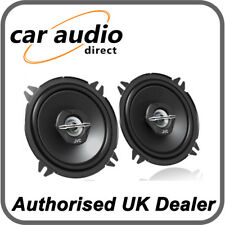 "JVC CS-J520X 13cm 5.25"" 250W 2-Way Car Stereo Audio Coaxial Speakers Door Pair"