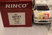 Ninco Renault Clio 16v Blanco Ref.50105 Nagelneu in der Papierschacht