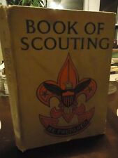 Golden Anniversary - Book of Scouting - 1959- 1st. Norman Rockwell  Color Art-