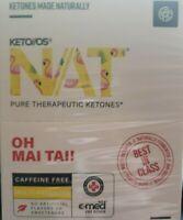 Pruvit KETO OS NAT OTG OH MAI TAI Caffeine free ketones 10 packets exp 2022