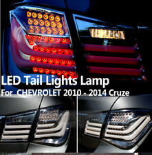 BMW Style Rear Trunk LED Tail Light Lamps Black For CHEVROLET 2010 - 2014 Cruze