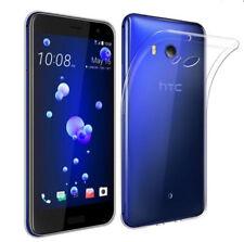 For HTC Desire 19+ U19e U11 + U11 Life U11 Eyes M10 U Ultra Clear Rubber Case