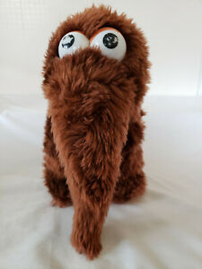 "Snuffleupagus Mammoth Plush 10"" Vintage Applause Muppets"