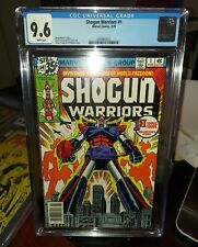 SHOGUN WARRIORS #1 CGC 9.6 White Pages TRANSFORMERS PROTOTYPE Key 1st Issue 1979