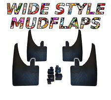 4 X NEW QUALITY WIDE MUDFLAPS TO FIT  Opel Astra H Sport Hatch UNIVERSAL FIT