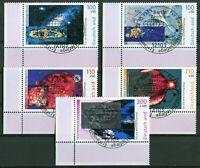 Bund Nr. 2077 - 2081 Eckrand Ecke 3 gestempelt Vollstempel ESST Motiv Weltraum