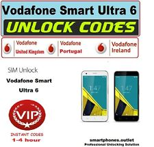 Vodafone Portugal Smart Ultra 6 Unlock Codes Worldwide database