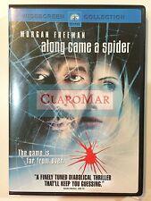 ☀️ Along Came a Spider DVD Morgan Freeman as Alex Cross French Audio R1 MINT