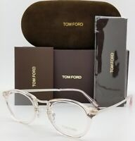 NEW Tom Ford RX Glasses Frame Pink TF5467 072 48mm AUTHENTIC Round Small Women's