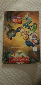 SNES Earthworm Jim 2 (SNSP-A2EP-EUR) manual only