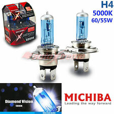 For CHEVROLET MICHIBA H4 60W/55W 5000K Xenon Super WHITE Headlight Bulb Low Beam