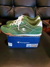 Vintage Champion Green Suede Tennis Shoes Women's Size 8 Nib