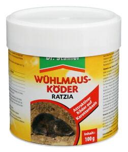 Dr. Stähler Wühlmausköder Ratzia 100 g gegen Wühlmäuse