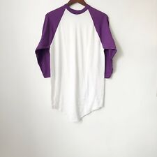 vintage russell athletic baseball tee mens size large NWOT 90s made in USA