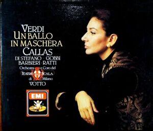 Verdi -Un Ballo In Maschera, Callas, Di Stefano, Gobbi - CD, VG