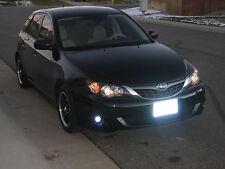 Blue LED Fog Lamps Driving Lights Set for 2008-2011 Subaru Impreza