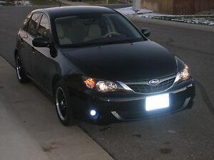 White LED Fog Lamps Driving Lights Set for 2008-2011 Subaru Impreza
