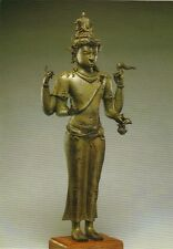 Postkarte: Statue des Shiwa Mahadewa - sehr schönes Motiv