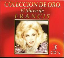 Coleccion De Oro El Show De Francis CD NEW 3 Disc Boxed Set 30 Songs!