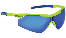 LUNETTES SALICE Mod.004 RW JAUNE VERRES BLAU/lunettes 004RW Blau