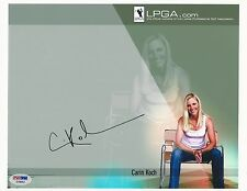 Carin Koch Lpga Golf signed 8x10 photo Psa/Dna #E19442