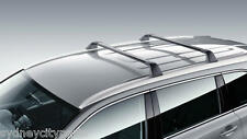 TOYOTA KLUGER ROOF RACKS GSU5# GXL GRANDE RAIL TYPE DEC 13> GENUINE ACCESSORY