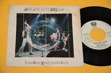 """DIRE STRAITS 7"""" 45 SOLID ROCK 1°ST ORIG ITALY VERTIGO SPIRAL ! DISCO EX !!"""