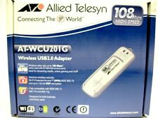 DRIVER UPDATE: ALLIED TELESYN AT-WCU201G WIRELESS USB ADAPTER