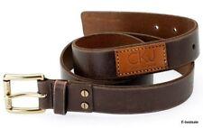 Cinturón Calvin Klein Vaqueros Ck 100% Piel Diversos Tamaños