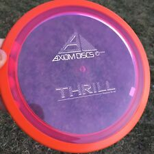 Axiom Discs 150 Class Proton Thrill with White Stamp Disc Golf Distance Driver
