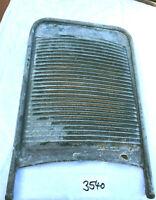 Nr.3540 altes Waschbrett Zinkblech Wäscheruffel Wäscheruppel Hilfsmittel waschen