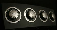 4 Alu Ornamental Rings for AC Switches for Mercedes Benz SLK R171 Interior Trim