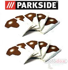 10 Fine Dust Vacuum Cleaner Bags Parkside Pnts 1300 A1 1300a1 Ian 55929 Lidl