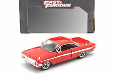 Dom's Chevrolet Impala Fast and Furious 8 2017 rot 1:24 Jada Toys