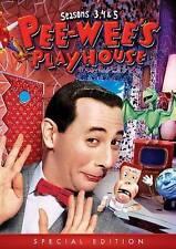Pee-Wees Playhouse: Seasons 3, 4, 5 (DVD, 2015, 4-Disc Set)