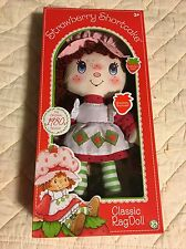 STRAWBERRY SHORTCAKE Doll 1980's Classic Collection 2016 Limited Edition