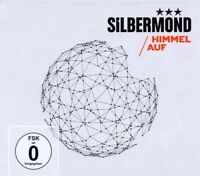 SILBERMOND - HIMMEL AUF CD + BLU-RAY LIMITED EDTION HARDCOVER BUCH NEU
